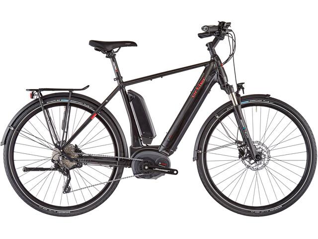 Ortler Berlin E-trekkingcykel 1000 WH, black